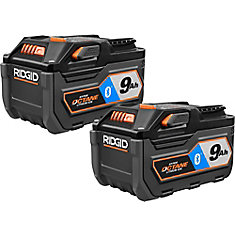 18V HYPER OCTANE Bluetooth 9.0Ah Battery (2-Pack)