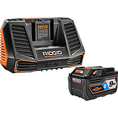18V OCTANE 9.0 Ah Lithium-Ion Battery and Charger Kit