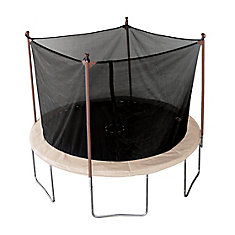 11-feet Round Trampoline and Enclosure Combo