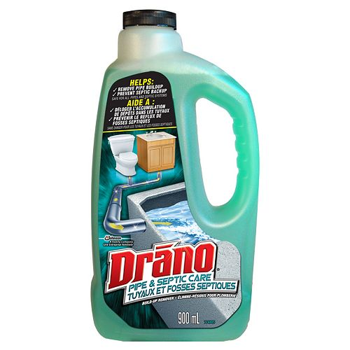 Drano Pipe & Septic Care Build-Up Remover