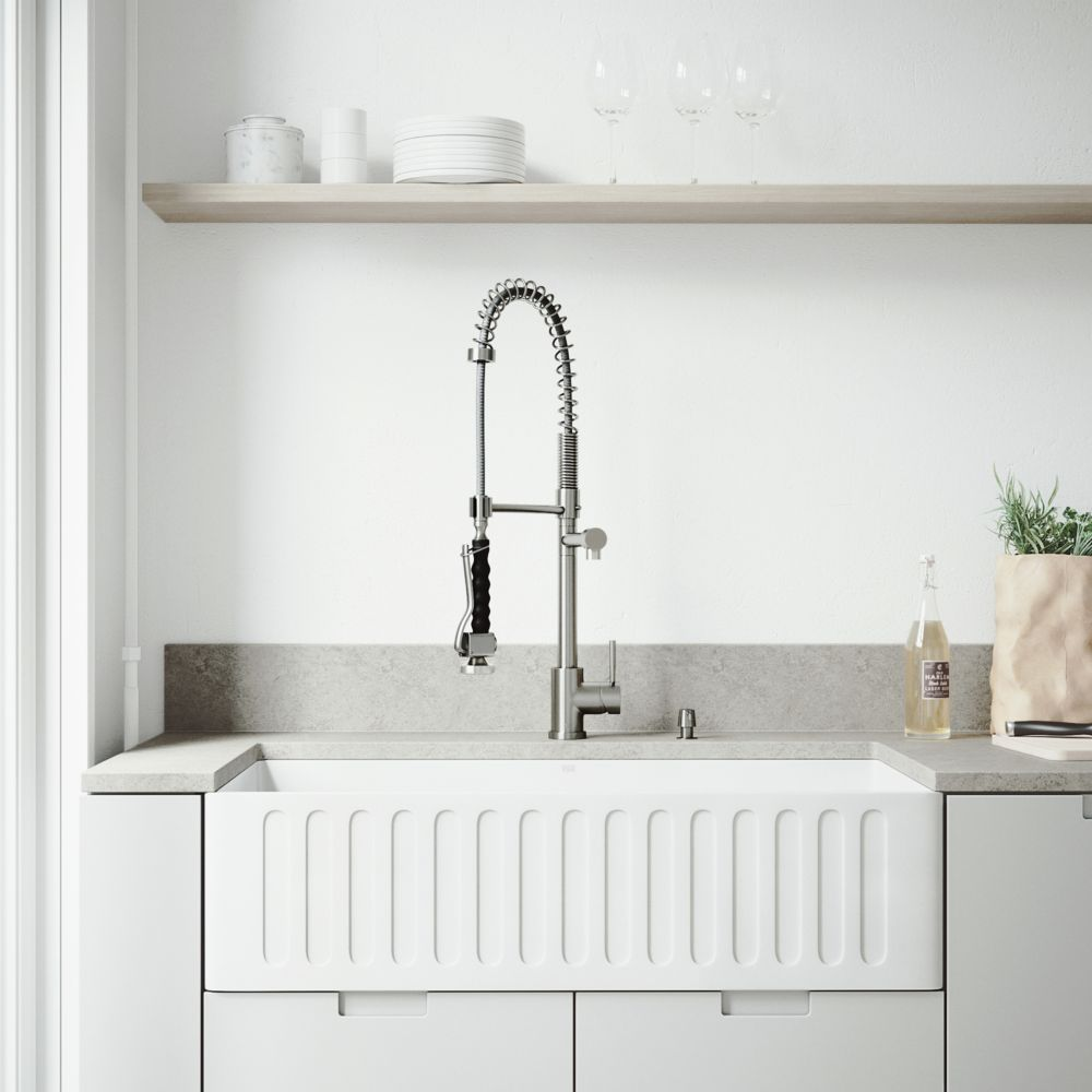 Blanco Quatrus 36 Inch Double Basin Kitchen Sink In