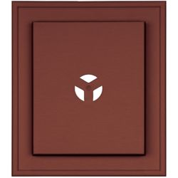 Mid America Mount Master Deluxe Plate Cabot Red/Burg