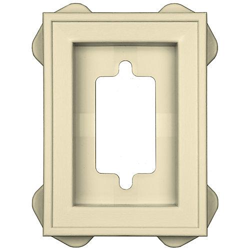 Mount Master Recess Mini Antique Ivory/Praire Wheat