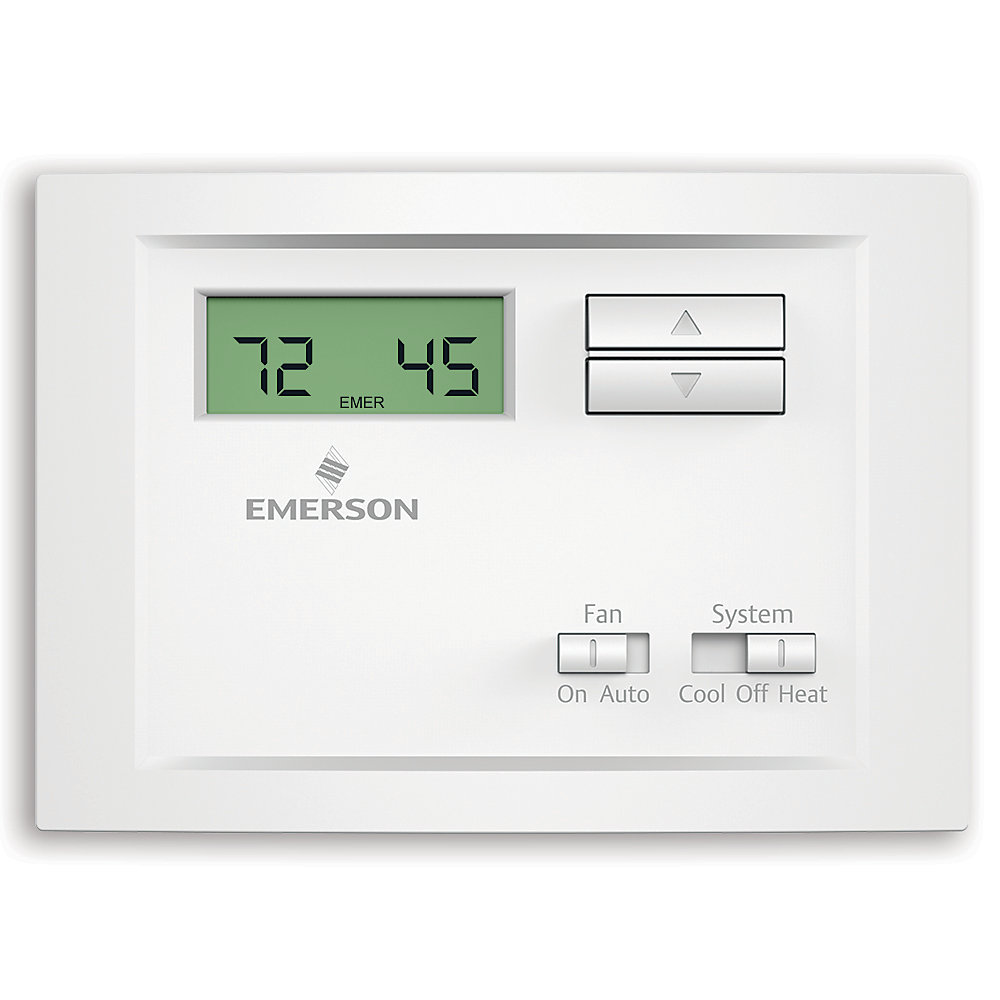 Thermostat monoétagé non programmable