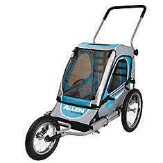 Steel One Child Jogger and Bicycle Trailer