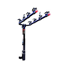 Deluxe Four Bike Hitch Mount Bike Rack