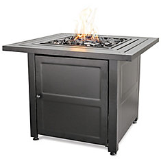 Endless Summer Fire bowl with Steel Mantel