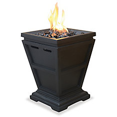 LP Gas Outdoor Fireplace, Small