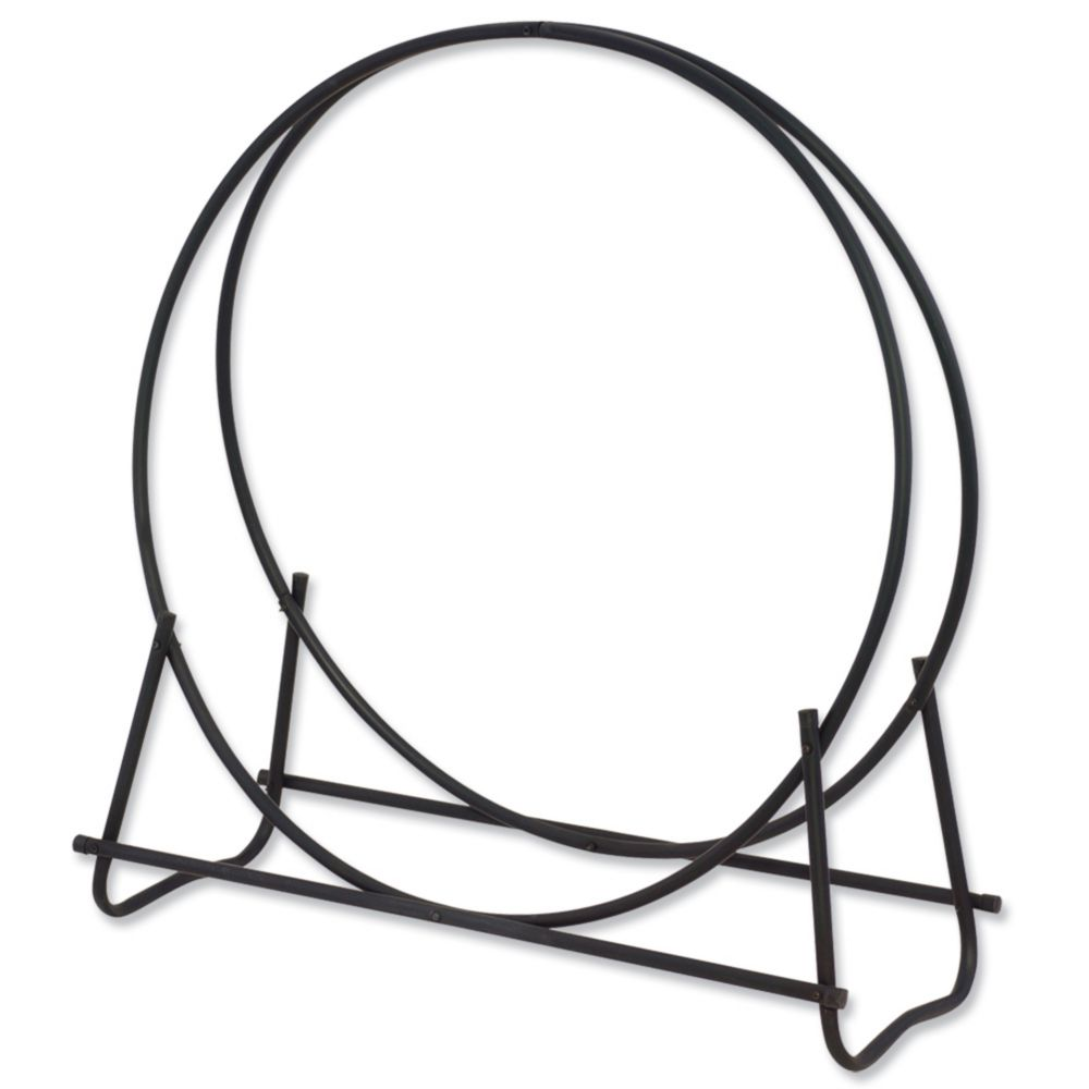 Blue Rhino Black 48 inch Diameter Log Hoop