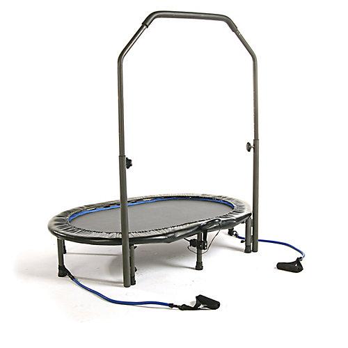 Mini trampoline ovale