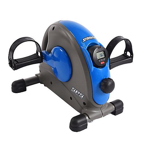 Vélo d'entraînement miniature avec système de pédales aisé