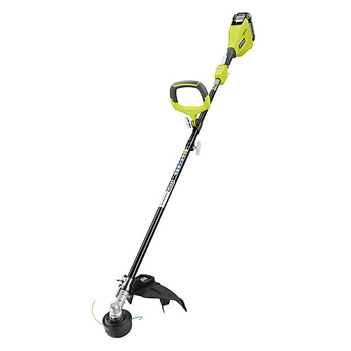 40-Volt Lithium-Ion Brushless Cordless Electric String Trimmer Kit with 3.0 Ah Battery and Charger
