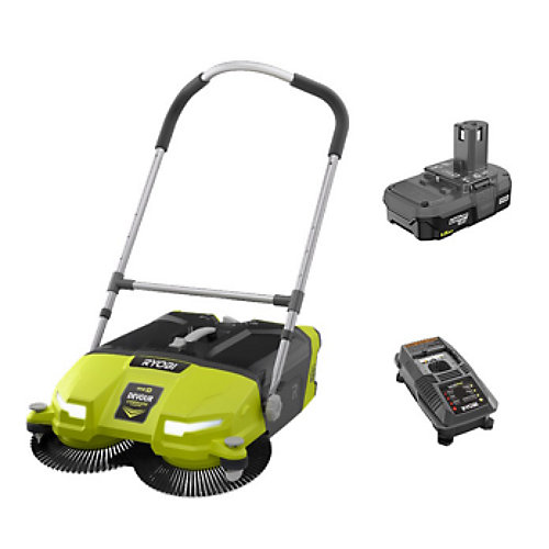 ONE+ 18V Lithium-Ion Cordless 4.5 Gal. DEVOUR Debris Sweeper Kit with (1) 1.5 Ah Battery