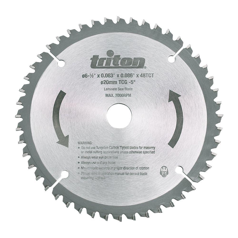 Triton Tools 48 Teeth Tcg Circular Saw Blade