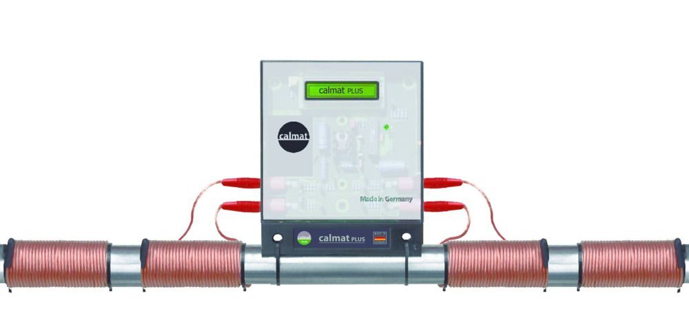 Calmat Plus Electronic Anti-Scale and Rust Water Treatment System
