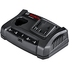 18V/12V Dual-Bay Battery Charger