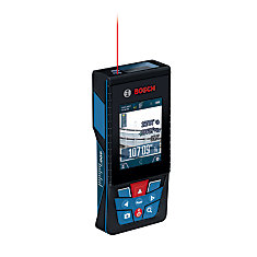 BLAZE Outdoor GLM400C 400 ft. Connected Laser Measure with Digital Viewfinder