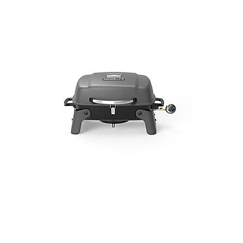 1-Burner Portable Propane Table Top BBQ in Black