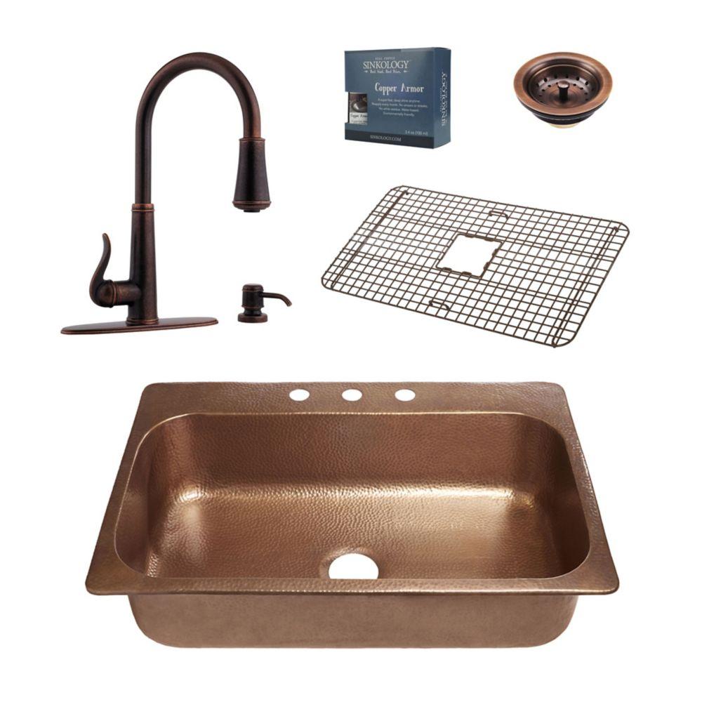 Glacier Bay Undermount Kitchen Sink
