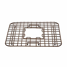 Gehry Kitchen Sink Bottom Grid Heavy Duty Vinyl Coated Antique Brown