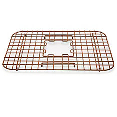 Sullivan 18-inch Kitchen Sink Bottom Grid Heavy Duty Vinyl Coated Antique Brown