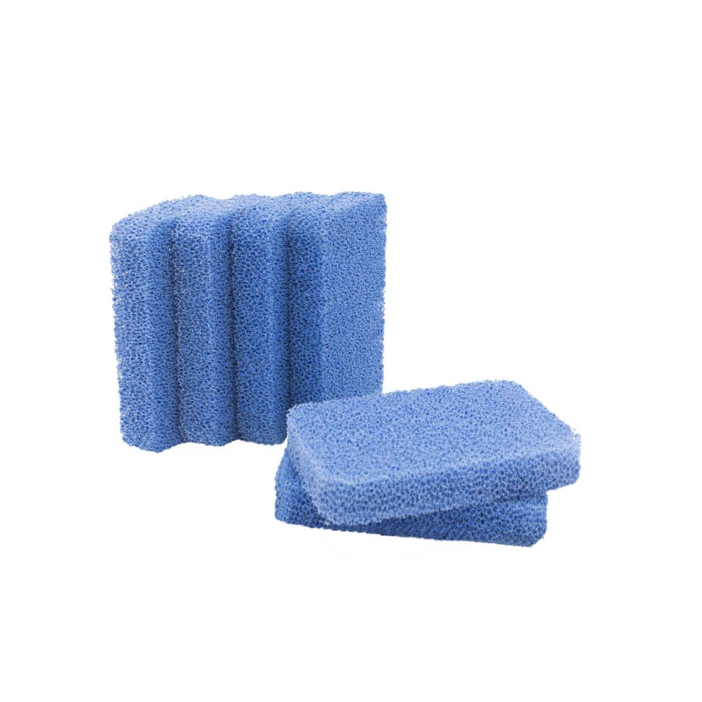 Sinkology Breeze Non-Scratch and Odor Resistant Silicone Scrubber Package of 6 Sponges