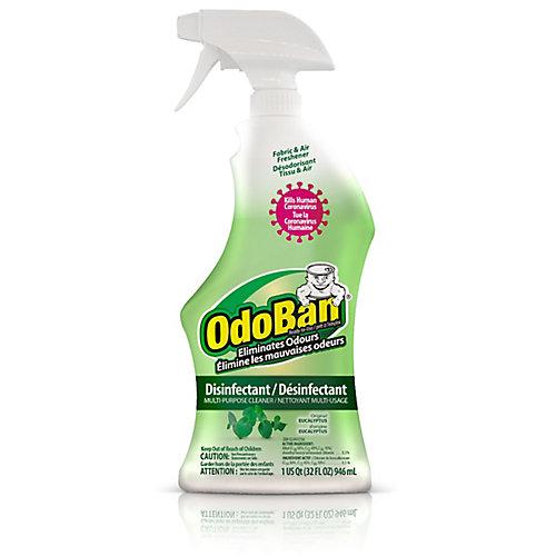 OdoBan Prêt à l'emploi  Parfum d'origine (Eucalyptus)