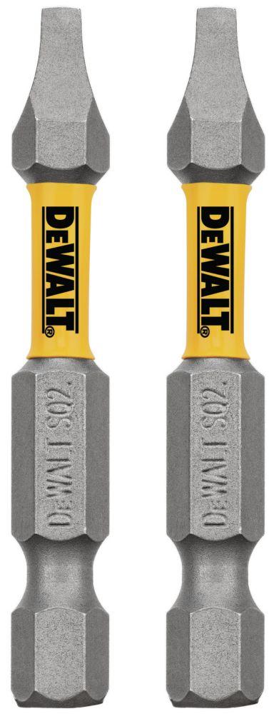 DEWALT MAXFIT 2 x 2 inch Steel Square Screwdriving Bit (2PK)