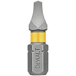 DEWALT MAXFIT 2 x 1 inch Steel Square Screwdriving Bit (2PK)