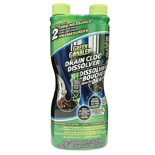 Green Gobbler Dissolve Hair and Grease Clog Remover