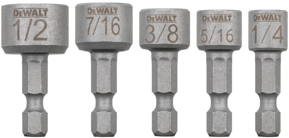 DEWALT MAXFIT Insert Nut Driver (5 Piece)