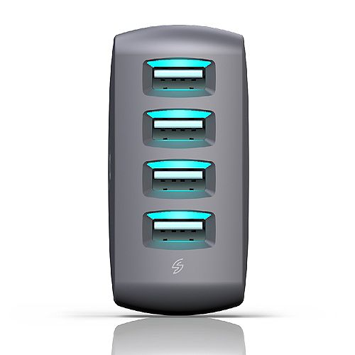 360 Electrical Vivid8.0 4 Port Wall Charger