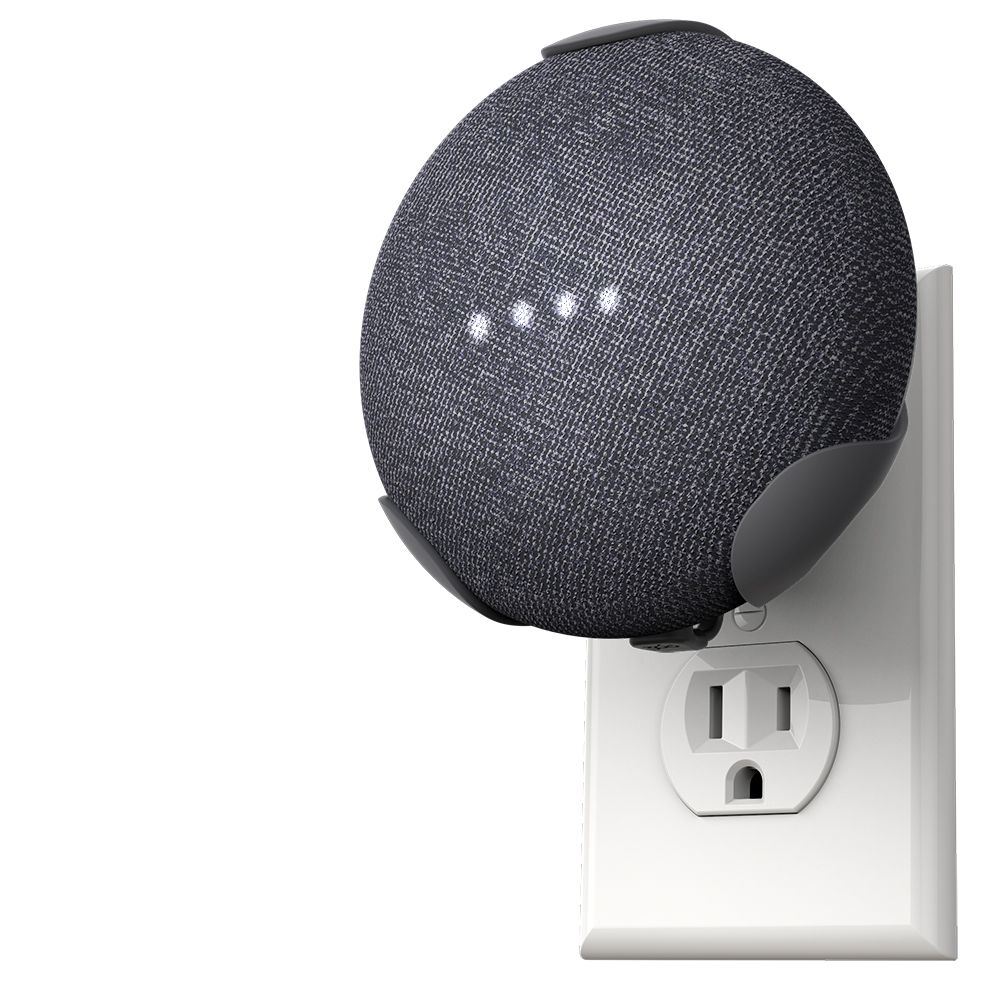 360 Electrical PowerClip Google Home Mini -Charcoal