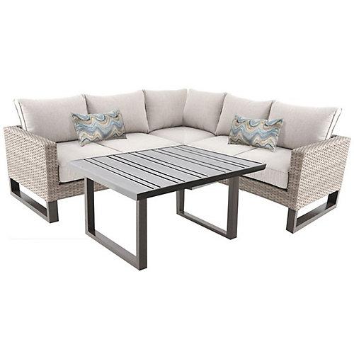 Park Heights ensemble de mobilier demontable, 4 pieces beige