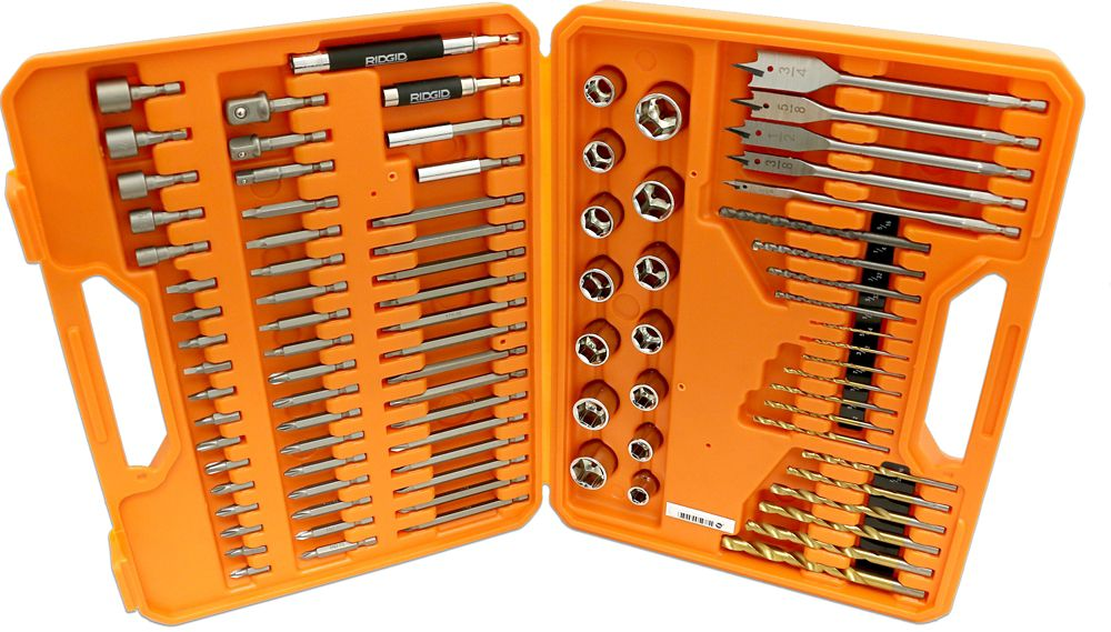 Drilling and drive kit (90 pieces)
