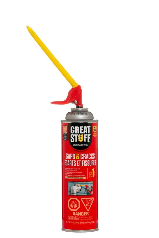 GREAT STUFF Gaps & Cracks 454g Insulating Foam Sealant with Smart Dispenser