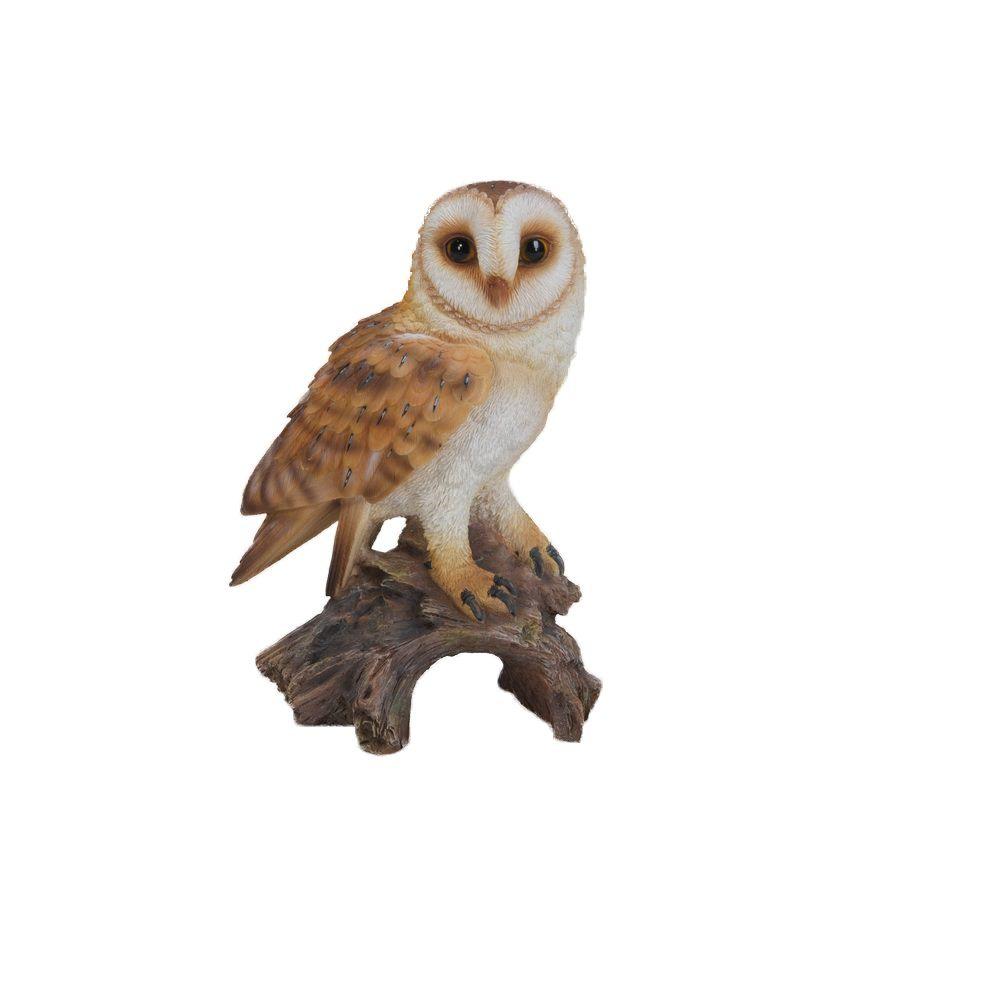 BRAND NEW FLAPPING BARN OWL GARDEN ORNAMENT