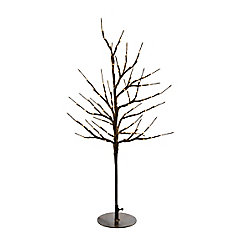 80 Rice Lights Floral Light Tree with AC Adapter