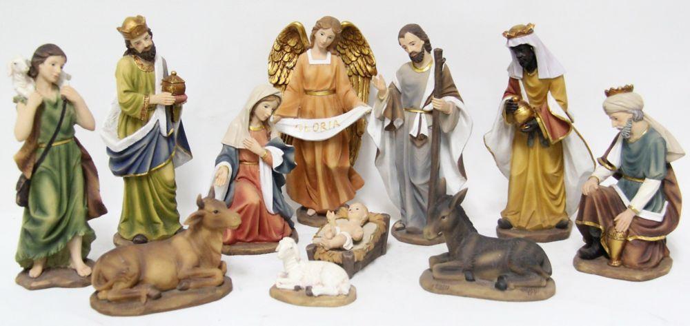 11PCS Nativity Set Statue