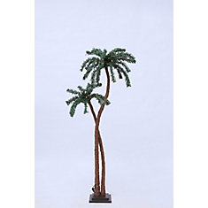48 Warm White LED Lights Palm Tree