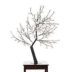 160 Warm White LED Lights Cherry Blossom Tree