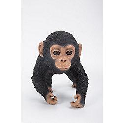 Hi-Line Gift Chimpanzee Baby Running Statue
