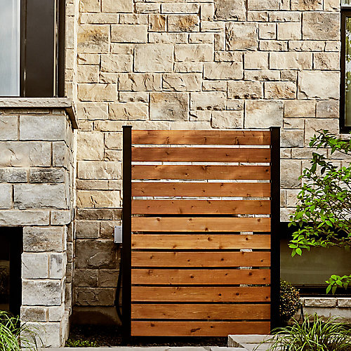 KIT A  2 End Posts & Hardware for Privacy Screens and Fences