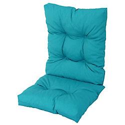 Bozanto Inc High Back Cushion Blue