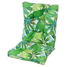 Highback Cushion floral Green