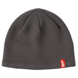 Milwaukee Tool Men's Gray Fleece Lined Knit Hat