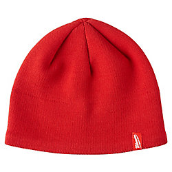 Milwaukee Tool Men's Red Fleece Lined Knit Hat