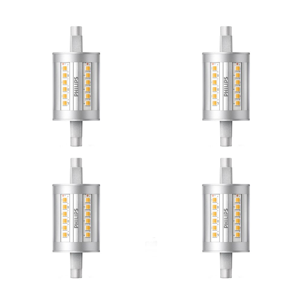 Philips LED 100W T3 79mm Bright White(3000K) Non Dimmble - Case of 4 Bulbs - ENERGY STAR®