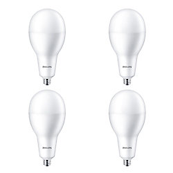 Philips 42W=300W Daylight Deluxe A40 Non-dimmable LED Light Bulb (4-pack)