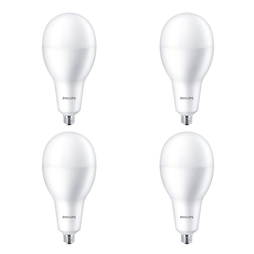 Philips LED 300W A40 High Lumen Daylight Deluxe(6500K) Non Dimmable - Case of 4 Bulbs